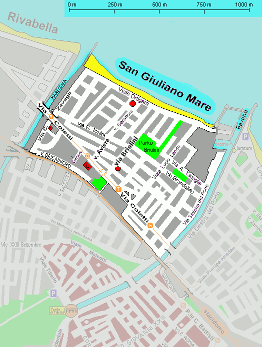 SUS 31 will take place in the Northern part of San Giuliano Mare.